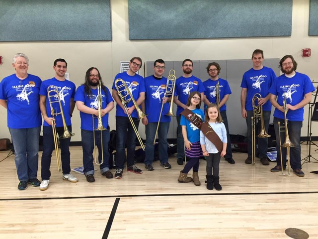 Jazz Trombone Ensemble at the Midwest Collegiate Judo Championships