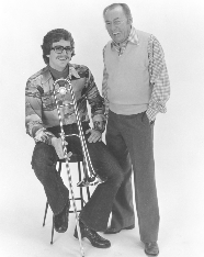 Jim and Woody Herman